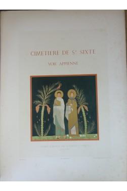 Catacombes de Rome. Architecture, peintures murales... 6 volumes - 283 planches - 1851