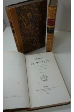 Oeuvres de Molière, avec des notes de tous les commentateurs [Reliure inconnu...