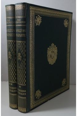 Napoléon Bonaparte. 2 tomes illustrés - superbes reliures - Editions Nationales 1936