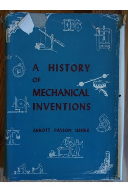 A history of mechanical inventions - livre illustré en anglais - 1954 -