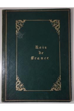 La collection des médailles historiques des rois de France - planches gravées sur acier 1844