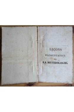Leçons élémentaires sur la Mythologie - H. Engrand - 1827 - Ed. Regnier -