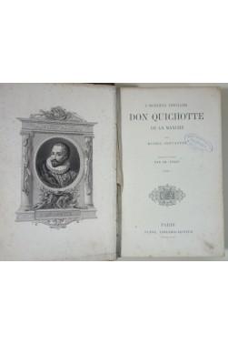 L'Ingénieux Chevalier Don Quichotte de la Manche par Michel Cervantès. Traduction nouvelle par Ch. Furne - 1858