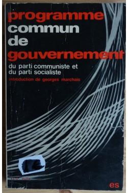 Programme commun de gouvernement du parti communiste et socialiste -