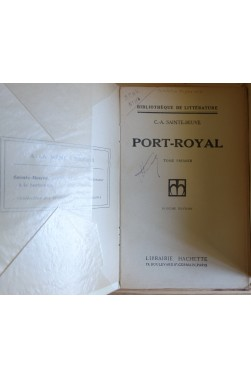 Port-Royal de sainte-Beuve - 7 tomes - Complet - Ed. Lib. Hachette - 1930 - BE -