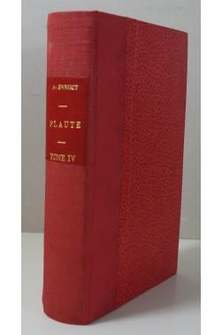 PLAUTE Tome 4 : Menaechmi - Mercator - Miles Gloriosus. Belles Lettres 1942