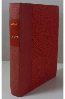 PLAUTE par Paul Lejay - Boivin éditeurs 1925 relié