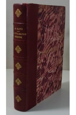 La civilisation égéenne par Gustave Glotz - planches et cartes - reliure signée Vinardi