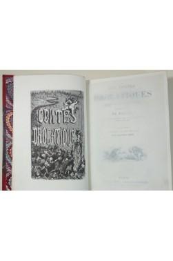 Les Contes drolatiques illustrés de 425 dessins par Gustave Doré