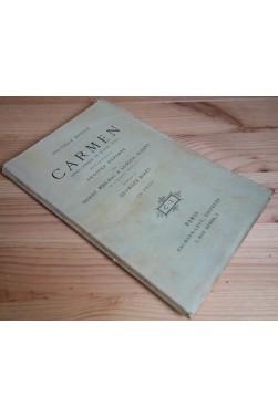 Carmen - opéra-comique en 4 actes - H. Meilhac et L. Halévy - G. Bizet - Calmann-Lévy -