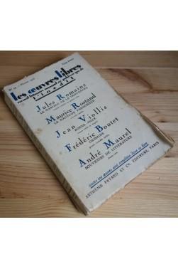 Les oeuvres libres n°44 - Romains, Rostand, Viollis... - Février 1925 -