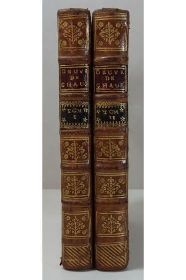Oeuvres diverses de Monsieur l'abbé de Chaulieu. 2/2 Chez Jean Nours 1740