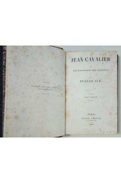Eugène Sue - Jean Cavalier ou les Fanatiques des Cévennes. 1846 Rare 4/4