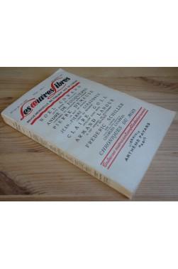 Lot Les oeuvres libres n°126 et 127 - 1956 - Fels, Valmain, Goll, Schiller - BE - -