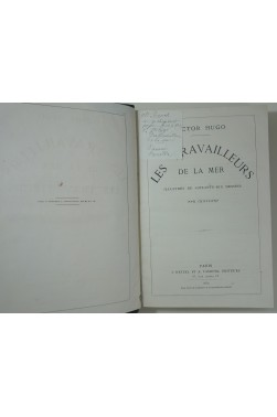 Les travailleurs de la mer - 1è édition illustrée par Chifflart 1869 + L'année terrible, ill de Flameng et Vierge 1874