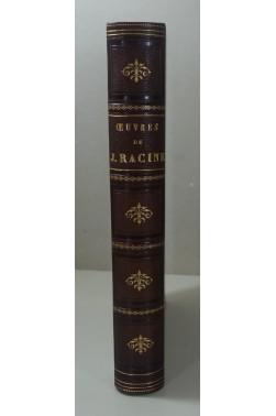 Oeuvres complètes de J. RACINE. 13 gravures sur acier - Gérard, Girodet, Desenne... Reliure