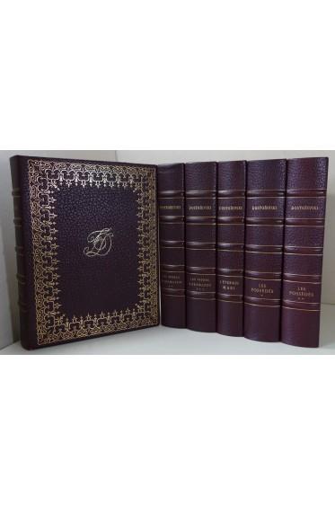 DOSTOIEVSKI illustré par EDY-LEGRAND - GRAU SALA - CIRY. Ed L'Odéon Vial 6 vol