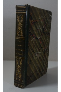 GUIZOT. Essais sur l'Histoire de France 2nde Edition - Brière 1824 - relié
