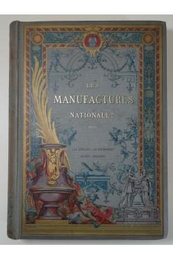 Les Manaufactures Nationales Gobelins Ed. Decaux 1889 - Reliure ENGEL Souze - 125 planches