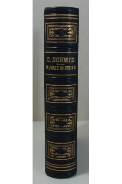 Oeuvres choisies du Chanoine C. SCHMID 1è + 2è séries Mame 1862 Gravures