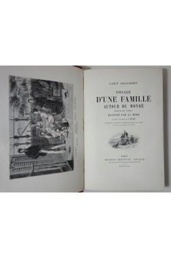 Lady Brassey. Voyage d'une famille autour du monde - cartes couleur, Dreyfous 1878