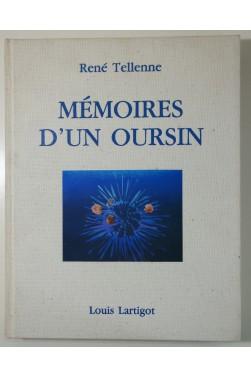 TELLENNE. Mémoires d'un oursin - Légendes de la Côte Bleue. Edition originale dédicacée