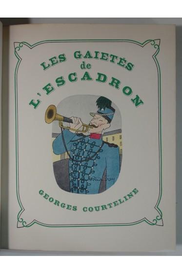 Oeuvres illustrées de Courteline 11/11 - Numéroté sur Alfa, Nouvelle Librairie de France, Librairie Gründ, 1947
