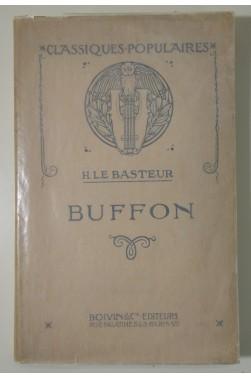 H. Le Basteur - BUFFON. Portraits et Gravures, Ed. Boivin, collection Classiques Populaires