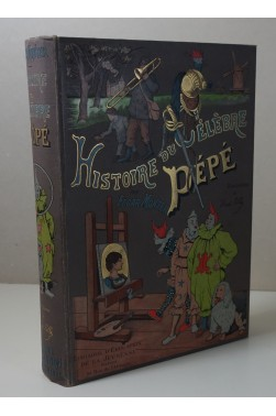 Histoire du célèbre Pépé - Cartonnage polychrome ENGEL Souze, dessins de Henri PILLE