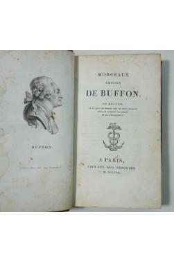 Morceaux choisis de BUFFON - style et éloquence - Aug. Renouard, 1807