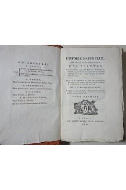 Brisseau-Mirbel. Histoire Naturelle des PLANTES - 12 tomes, 78 Planches, Dufart An X 1802