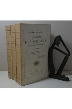 TOUSSENEL. Le Monde des Oiseaux. Ornithologie passionnelle 3/3 - E. Dentu, 1884