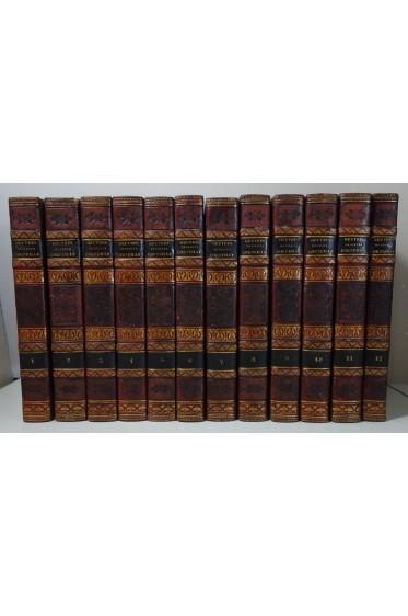 Oeuvres de CORNEILLE 12/12 - Pref. de VOLTAIRE - Janet et Cotelle, 1821, belles reliures