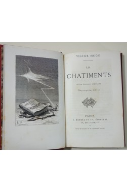 HUGO. Les Châtiments - seule édition complète. J. Hetzel éditeurs, c. 1870, Relié