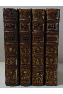 L'Abbé DESFONTAINES. Oeuvres de VIRGILE 4/4 - Edition Barbuty, 1770, Latin - Français