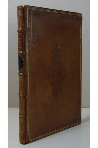RELIURE signée PETIT - M. Tullii CICERONIS - Senecae. Typ Romanis 1820, NIEBUHR, RARE