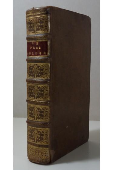 ADDISON Le Free-Holder ou l'Anglois jaloux de sa Liberté. Essais politiques - Reliure, 1727