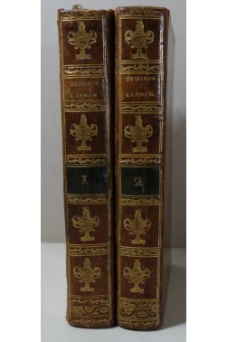 DIOGENE. Les vies des plus illustres philosophes de l'antiquité 2/2 - Chez Richard, 1896, RARE