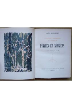 Pirates et négriers - L. Garneray - 1945 - Ed. La nouvelle France - Illustrations de Timar -