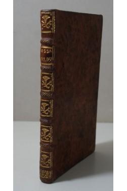 CHALOTAIS. Essai d'éducation nationale ou Plan d'études pour la jeunesse - 1763