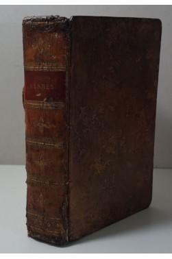 HARRIS. Hermès, ou Recherches philosophiques sur la grammaire universelle - 1796, vélin du Marais