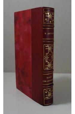 Marcel PREVOST. Marie-des-angoisses - édition originale numérotée sur Alfa, envoi signé 1932