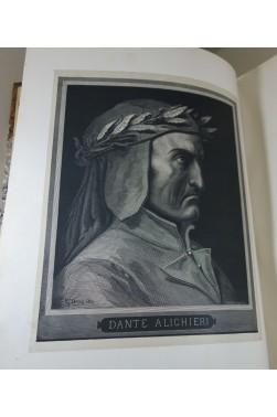 L'Enfer de DANTE. Dessins de Gustave DORE - Hachette, 1865, 76 planches in-folio