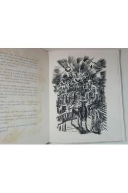 Les Bacchantes - Cuivres d'Albert DECARIS. Numéroté 1/150 sur Lana, 1948 RARE