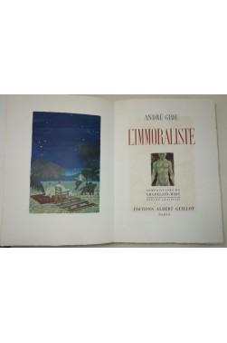 GIDE. L'Immoraliste - Compositions en couleurs de CHAPELAIN-MIDY. 1/110 sur Johannot, 1951