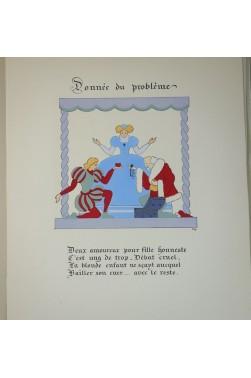 Charles DUBIN. L'éternel problème - 1944, numéroté sur vélin de Lana. RARE + suite