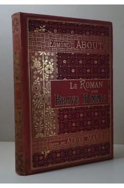 ABOUT. Le Roman d'un Brave Homme - Cartonnage SOUZE, Hachette, 1882 - Illustré par A. Marie