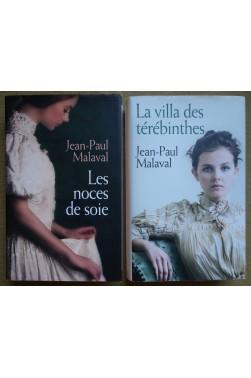 Lot: Les noces de soie + La villa des térébinthes - JP Malaval - Ed. France Loisirs - TBE -