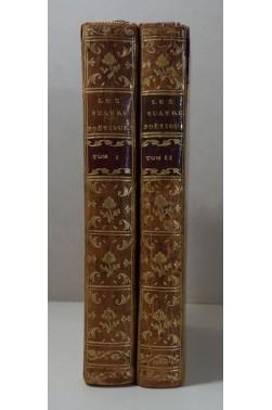 Les Quatre Poetiques, Aristote - Horace - Vida - Despreaux. 1771, Avec les traductions, 2/2