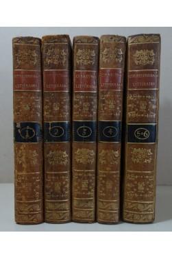 LAHARPE. Correspondance littéraire 6/6 - Edition originale 1801-1807 - Migneret - Empereur de Russie